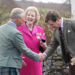 Duke and Duchess of Rothesay with Guy Macperson-Grant