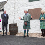 Duke and Duchess of Rothesay open Ballindalloch Distillery
