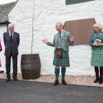 Duke and Duchess of Rothesay open Ballindalloch Distillery