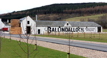 How to find Ballindalloch DIstillery