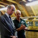 HRH Duke of Kent at Ballindalloch Distillery