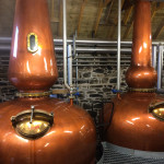 Stills at Ballindalloch Distillery