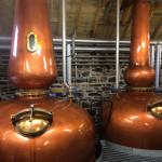 Stills at Ballindalloch Distillery