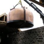 Construction of Ballindalloch Distillery