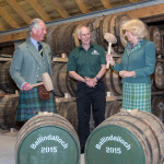 Duke and Duchess of Rothesay at Ballindalloch Distillery