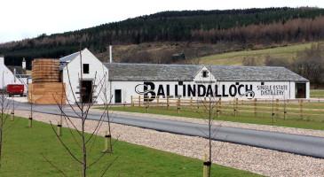 How to find Ballindalloch DIstillery
